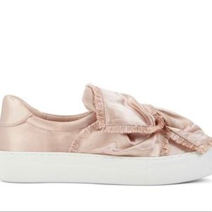 J/Slides Azurra Satin in Light Pink Sneakers